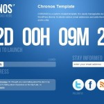 chronos under construction themeforest wordpress theme
